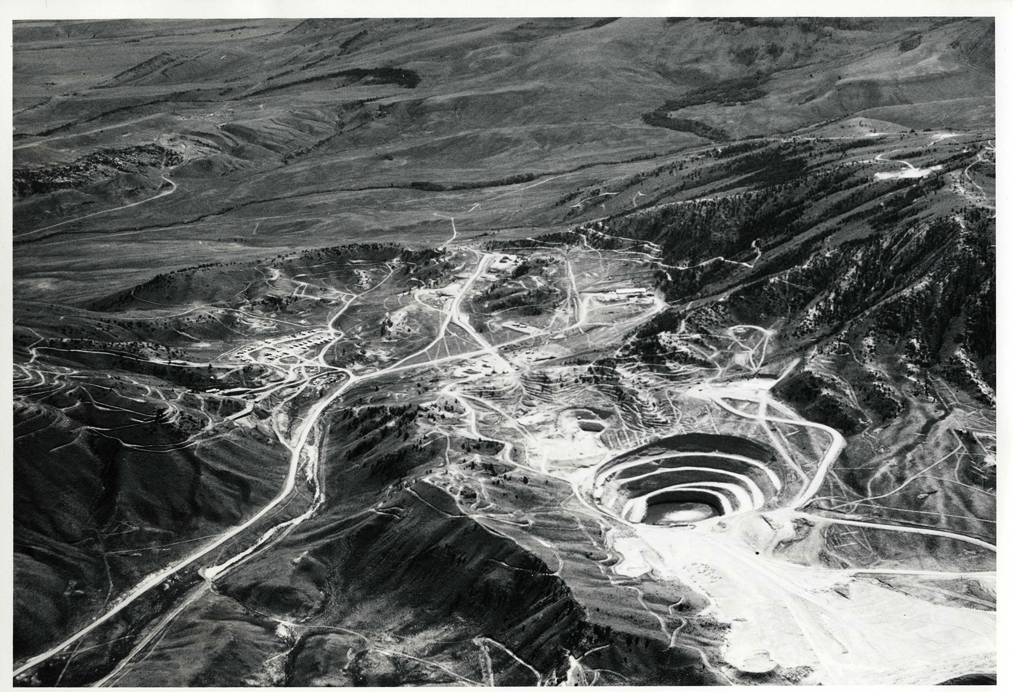 Open Pit Surface Mine