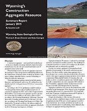 Wyoming's Construction Aggregate Summary Report 2014