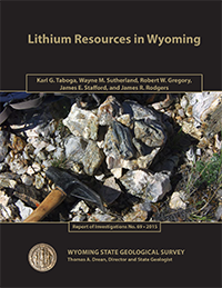 Link to Lithium Resources in Wyoming report