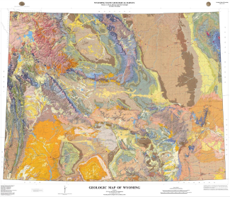 Geologic Map of Wyoming